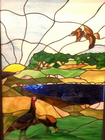 Sonora, تكساس: Awesome stained glass!