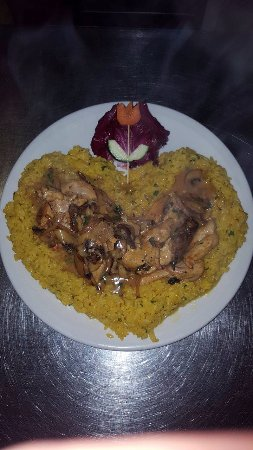 Crowthorne, UK: A heart shape Pollo Monica, :-)