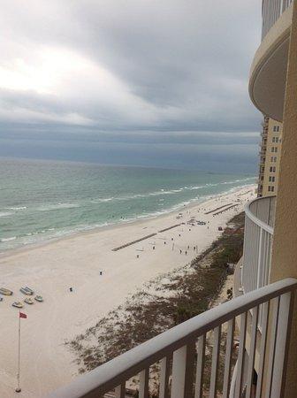 Ocean Villa Condos: Storm rolling in.