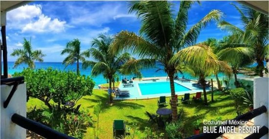 Blue Angel Resort: this view will relax you and make you happy