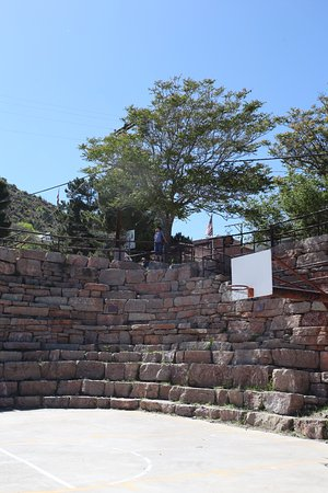 Jerome, AZ: Stairs to the right