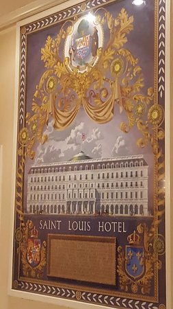 From the lobby - picture of the Omni Royal Orleans Hotel (formerly the St. Louis Hotel)