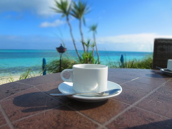 Windsong Resort: morning cup of coffe