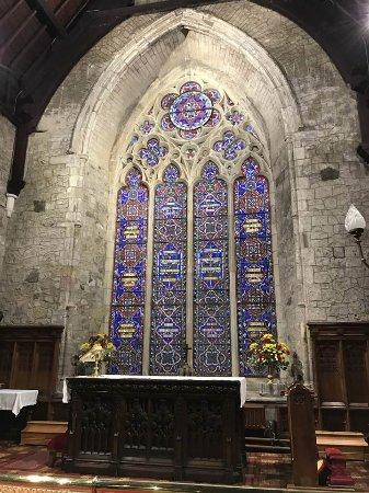 Carrickfergus, UK: Main window in St. Nicholas Church