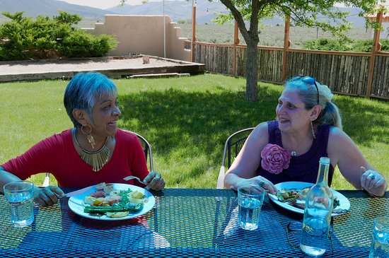 El Prado, NM: Mothers enjoying our Mother's Day brunch