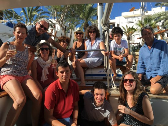 Vita Bel II: A really friendly French family on board in 2016