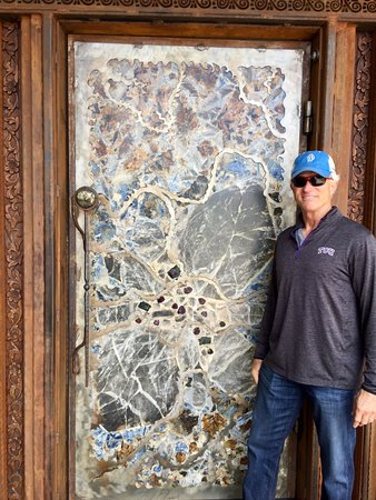 Mariposa Latin Inspired Grill Cool Front Door