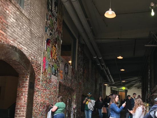 The Gum Wall: A Popular Attraction
