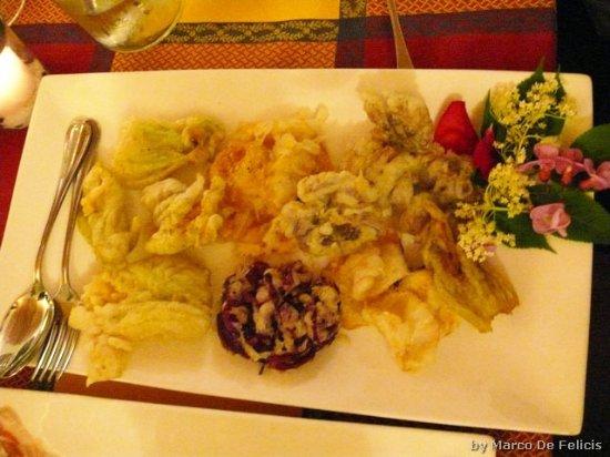 Terricciola, Italia: fritto di fiori