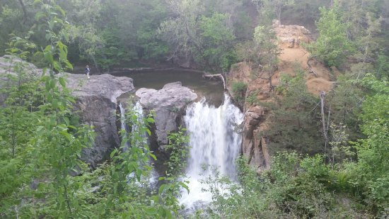 Redwood Falls, MN: This and the nearby suspension bridge are highlights of this park.