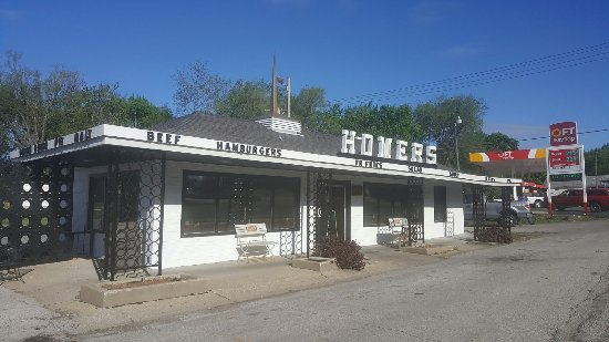 Leavenworth, KS: Homer's Drive In