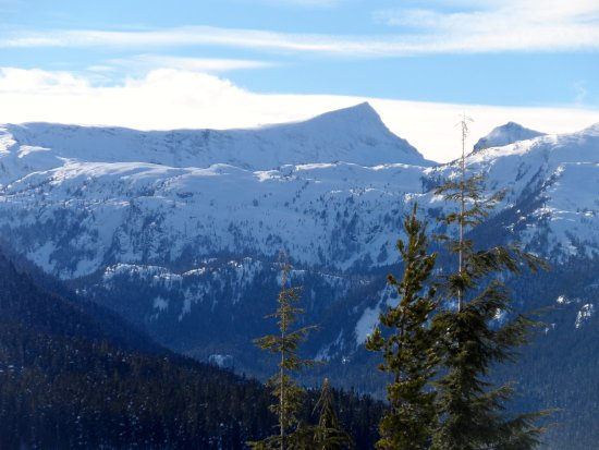 Mount Washington, Канада: snow shoe area