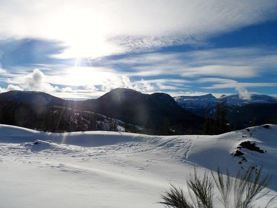 Mount Washington, Kanada: snow shoe area