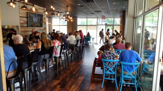 Canopy Road Cafe Seats at the bar. & Outdoor seating. - Picture of Canopy Road Cafe Tallahassee ...