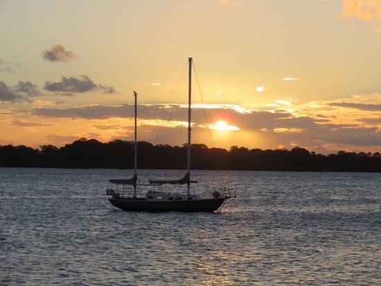 Bongaree, Australia: Sunset