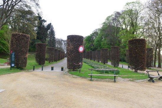 Nice park near to the Atomium