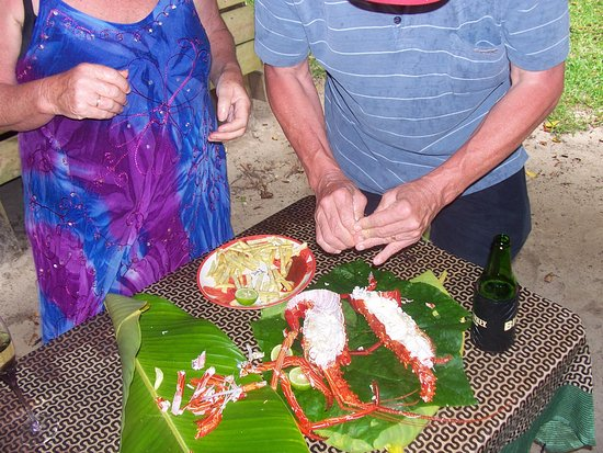 Towock Bungalows: Lunch at towoc bungalows