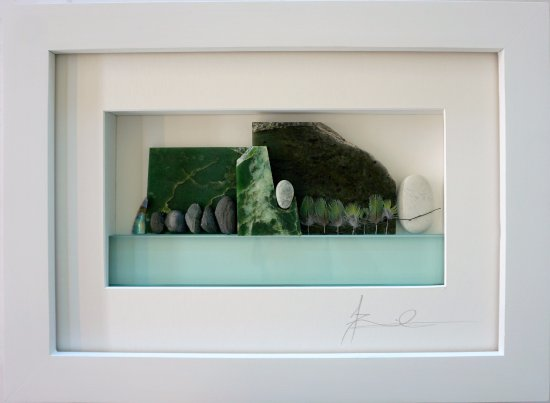 Tamahere, New Zealand: A stunning artwork featuring New Zealand Greenstone by Annemieke Farmilo