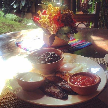 Hotel Meson del Valle: Desayuno Chapin