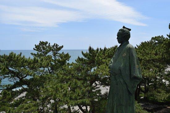 Ryoma Sakamoto Bronze Statue: ベストアングル