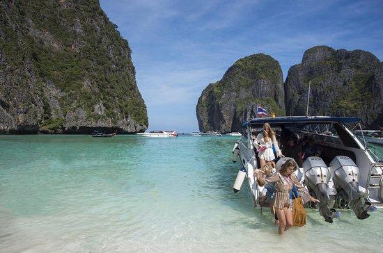 Mit dem Schnellboot von Phuket zu den...