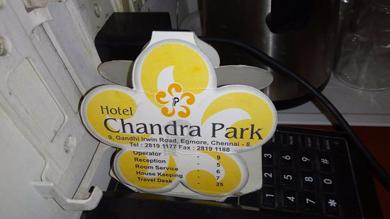 Hotel Chandra Park: Standard room Chandra park