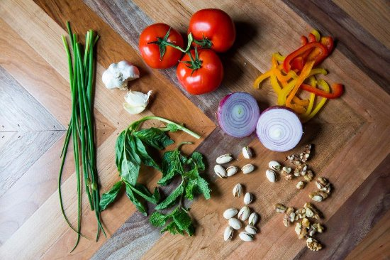 Pine Bush, NY: Some of the fresh ingredients used in our dishes