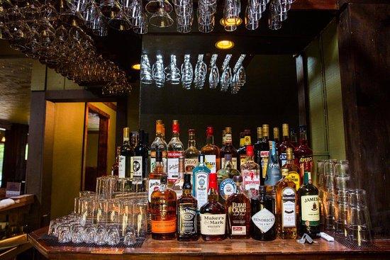 Pine Bush, NY: the back bar