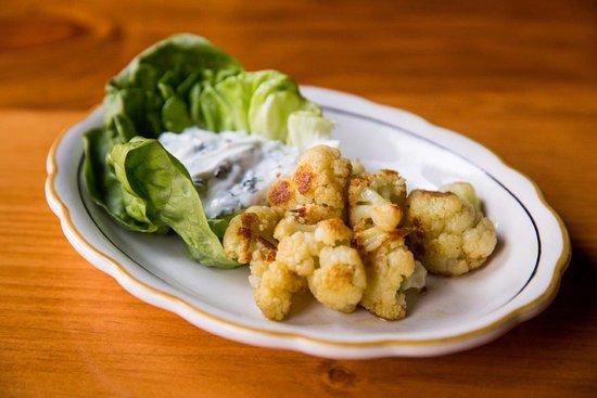 Pine Bush, NY: Roasted Cauliflower