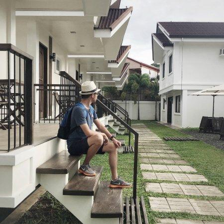 Cleon Villas view (me)