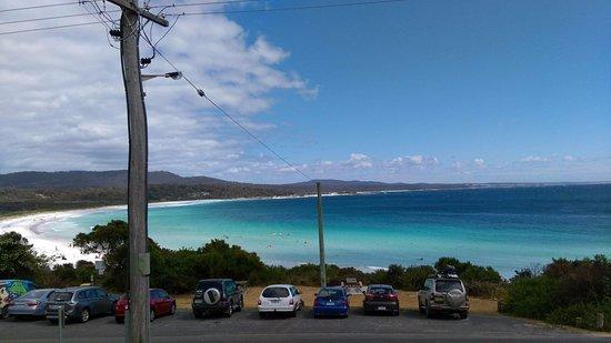 Binalong Bay, Australia: Just a random view from the restaurant!