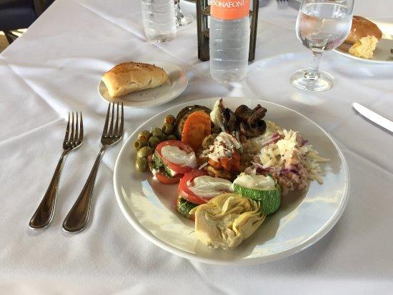 Casserres, Испания: Dinner Buffet