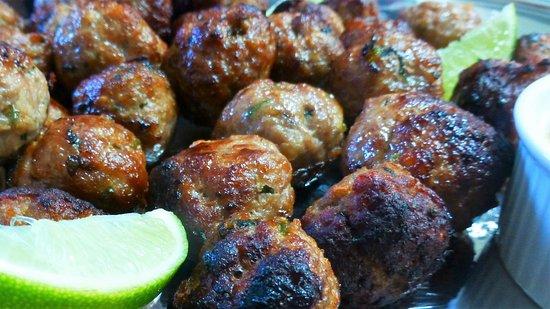 Tabulam, Australia: Thai meatballs