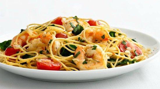 Andros Town, Grecja: Spaghetti ai Gamberetti..