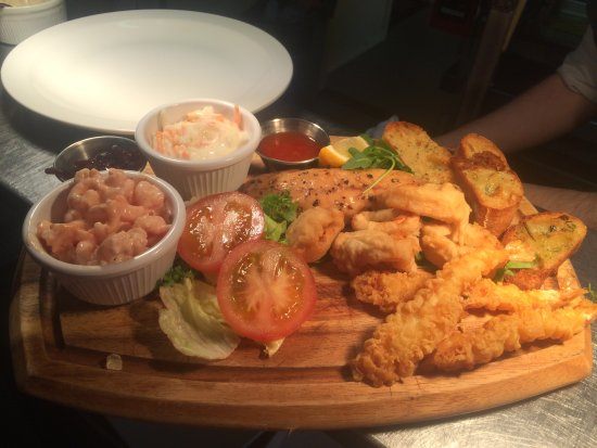 High Wycombe, UK: Seafood platter on our new menu