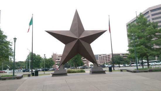 Bullock Texas State History Museum: Yes, a big Lone Star