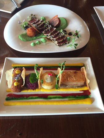 Cambridge, Australia: Tasting plates