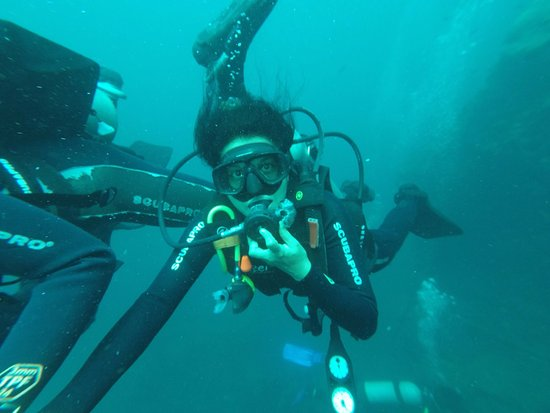 Candidasa, Indonesia: The dive at 10 meters