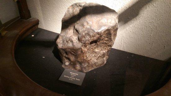 Texas Memorial Museum: big iron meteorite fell in Wichita 1858