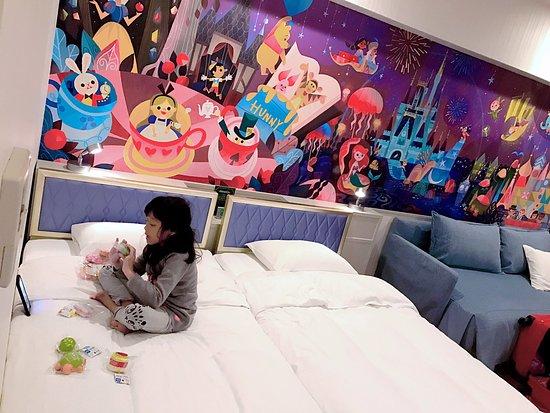 Cute Wallpaper Inside Wish Room Picture Of Tokyo Disney