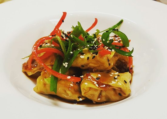 Aireys Inlet, Australien: Delicious chicken and ginger steamed dumplings.