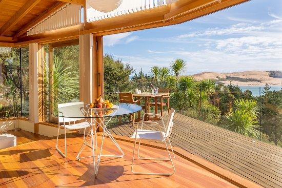 Omapere, Nueva Zelanda: View from the bed