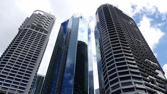 ibis Styles Brisbane Elizabeth Street: Das Hotel liegt ziemlich im Zentrum