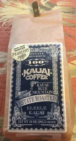 Kalaheo, Hawái: Peaberry Roasted Coffee
