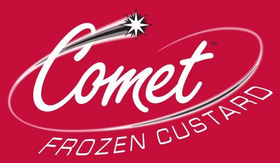 Rolling Meadows, IL: Comet Frozen Custard Logo