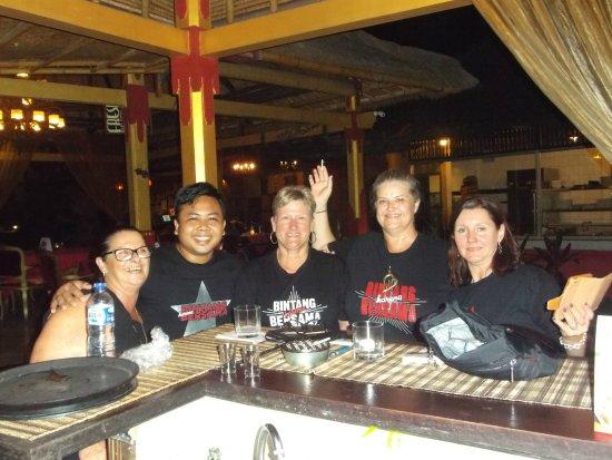 La Rouge: Bintang Fun at Larouge Restaurant in Candidasa