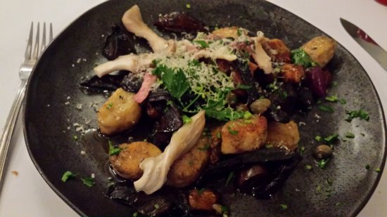 "Lyndoch, Australia: ""Gnocchi Gone Wild"" $32 from the menu"