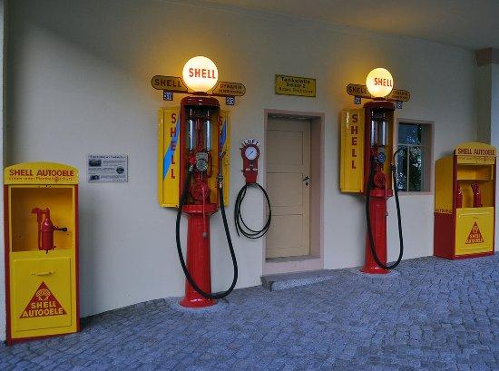 Historisches Tankstellenmuseum
