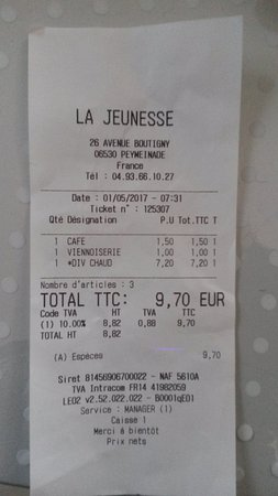 Пейменад, Франция: Facture