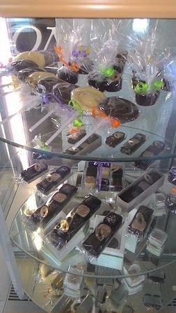 Komarno, Slovacchia: chocholate - bonbons